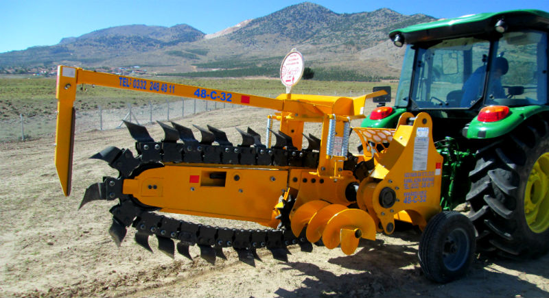 trenching machine Trenching Machines Home Tractor Mounted Trenchers 48C32