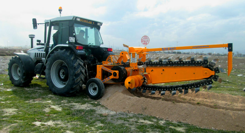 trenching machine Trenching Machines Home Tractor Mounted Trenching Machines 48C40