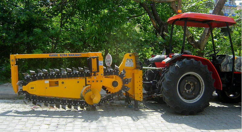 About Trencher Machine, About Of Trencher Machine