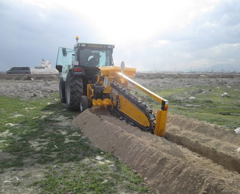 trenching machine Trenching Machines – 48C40 Trenching Machine 11 495x400