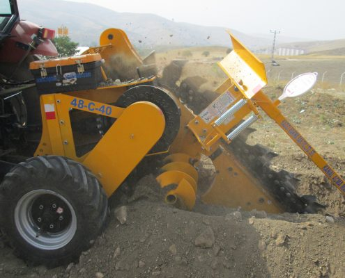 trenching machine Trenching Machines – 48C40 Trenching Machine 3 495x400