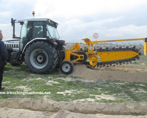 Trencher Photos Trenching Machines Hard Soil 1 495x400